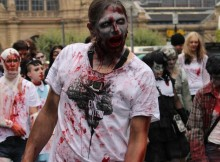 Zombiewalk 2014 in Frankfurt