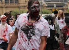 Zombiewalk 2014 in Frankfurt